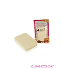 Square cosmetic sponges - 4 pack