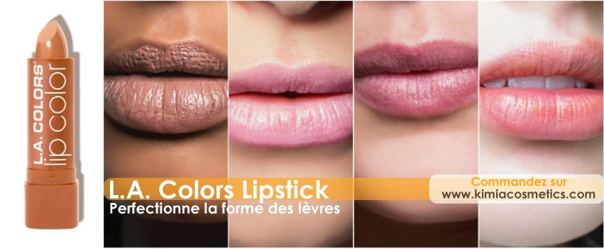 rouge à lèvres pulpeuses nude